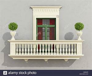 graue klassische fassade mit steinernen balkon und fenster With markise balkon mit graue stein tapeten