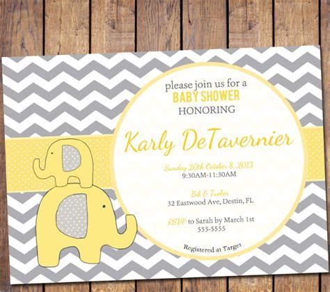 printable baby shower invitations psd ai word eps