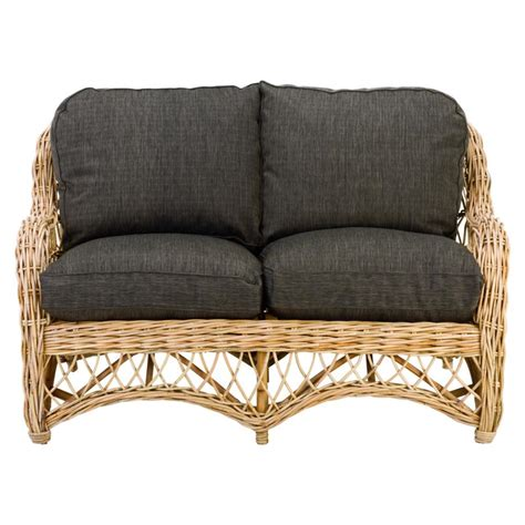 canapé osier rotin 2 places canapé en rotin tressé canapé en osier tressé canapé en