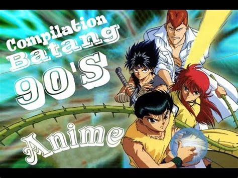 Anime Compilation Wallpaper - anime compilation of the 90 s