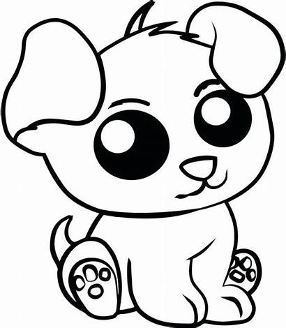 Coloring Pages Animal Puppy