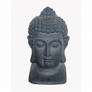 Grande Statue Bouddha Pas Cher : t te de bouddha d coration de soir e avec suissevents ~ Teatrodelosmanantiales.com Idées de Décoration