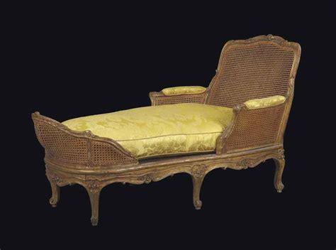 chaise longue d intérieur chaise longue d 39 epoque louis xv estampille de michel