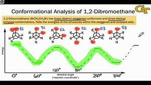 05 05 Conformational Analysis Of 1 2-dibromoethane