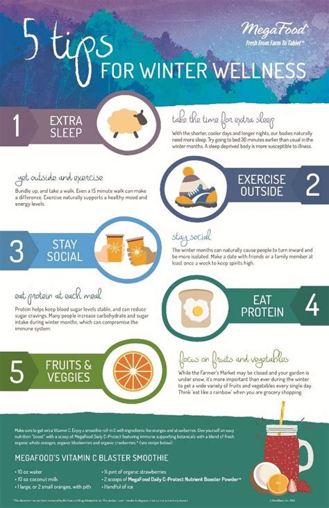 5 Tips for Winter Wellness  Wellness Pinterest