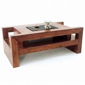 Table Basse En Bois Exotique Zen Dco L39esprit Ethnique