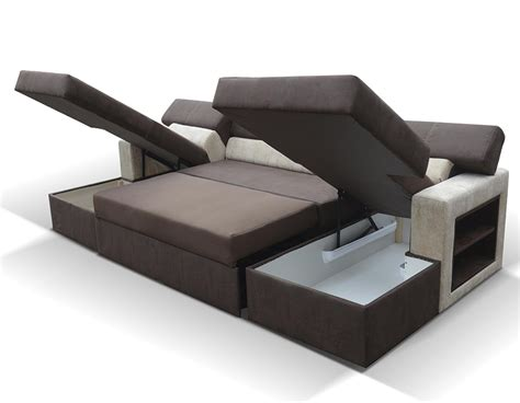 canap convertible relax canap d 39 angle panoramique convertible avec 2 rangements