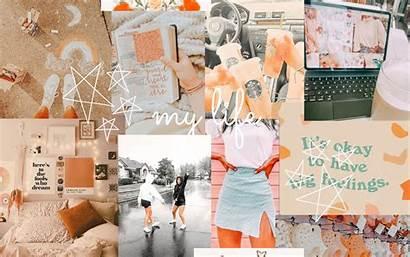 Aesthetic Collage Laptop Desktop Wallpapers Laptops Backgrounds