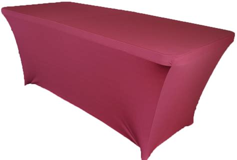 spandex table covers cheap 8 ft rectangular burgundy spandex table covers