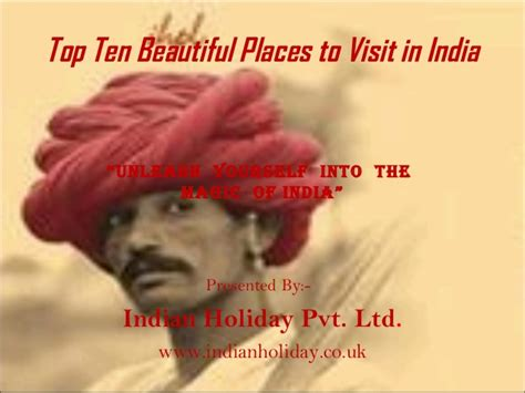 Readydesk Go India Pvt Ltd by Top Ten Beautiful Places To Visit In India