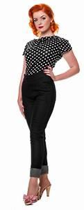 Mode Femme Année 50 : mode pantalon femme ann e 50 ~ Farleysfitness.com Idées de Décoration