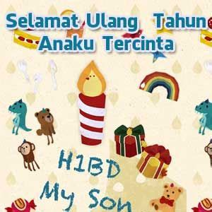 ucapan selamat ulang   anak umur   happy bday nayubi pinterest