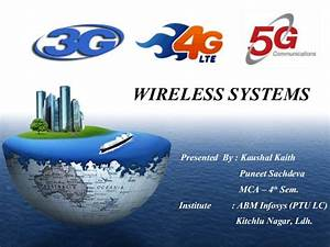 Presentation On 1g  2g  3g  4g  5g  Cellular  U0026 Wireless