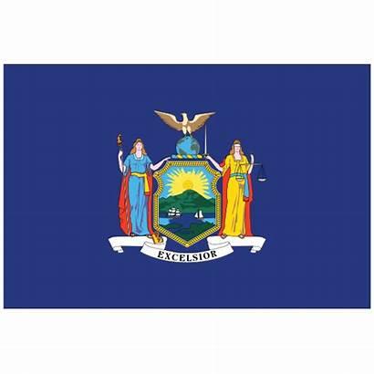 Flag Ny York State Magnet