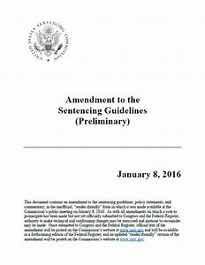 Sentencing Guidelines Chart 2017 Proposed 2017 Amendments To The Federal Sentencing