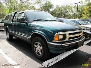 1997 Chevrolet S10 Ls Extended Cab 4x4 In Fairway Green