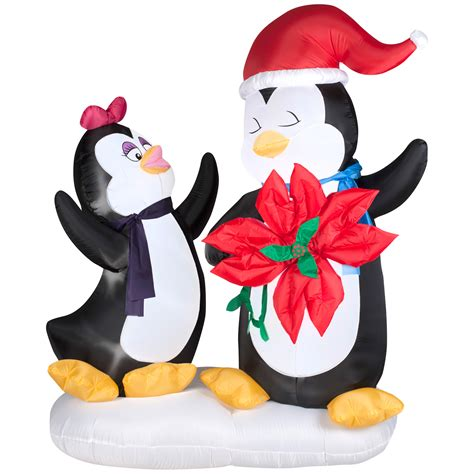 gemmy christmas airblown inflatables animated penguin
