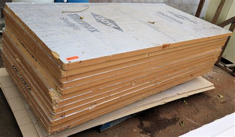 pallet dow thermax sheathing insulation panels