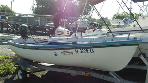Dory Boat Sale by For Sale Dory Style 13 Skiff Boat Used Boat Sales Miami