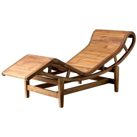 Patio Loungers On Sale by 21st Century Lounger In Teak Wood After Le Corbusier Lc4