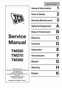 Jcb Tm200 Tm270 Tm300 Farm Master Telescopic Service