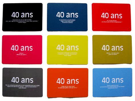 Cartes Citations Pour L'anniversaire De 40 Ans