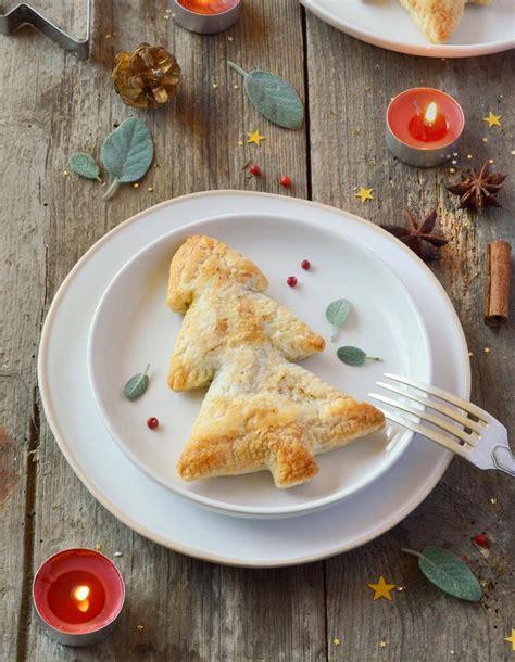 cuisine de noel feuilletés sapin au potimarron châtaignes et seitan pour