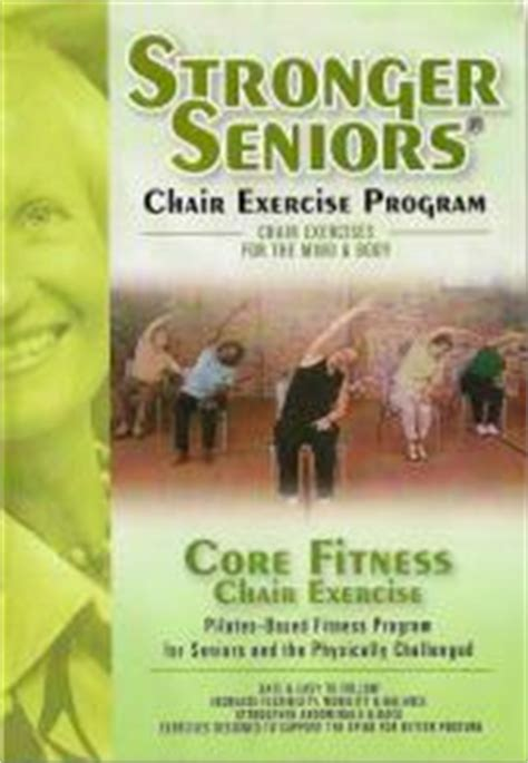 Chair Exercise For Seniors Dvd by Senior Citizen And Exercise Dvds And Books