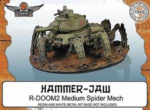 R-DOOM02 Medium Spider Mech | Nurgle Guard Army ...