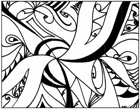 abstract coloring pages  teenagers printable coloring