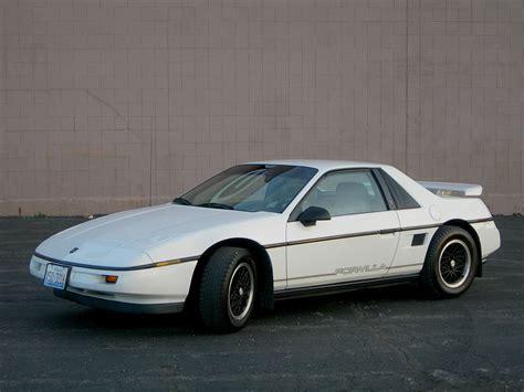 pontiac sports car pontiac fiero wikipedia