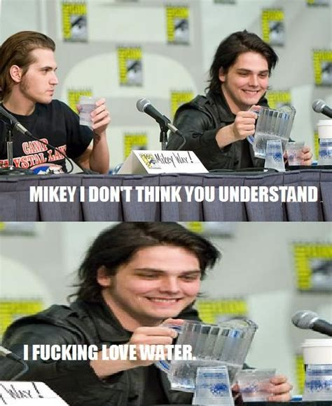Mikey Meme - pin by jayde butson on bands pinterest