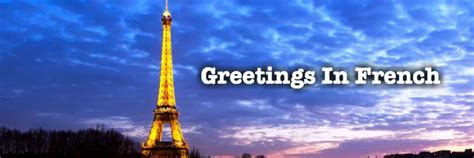 Greetings in French – Pat French Voice Over