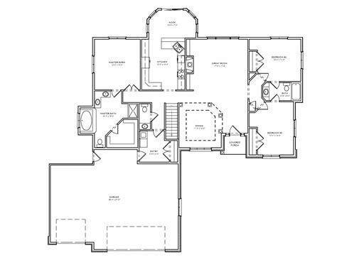 3 bedroom house plans with basement split bedroom ranch hosue plan 3 bedroom ranch house plan