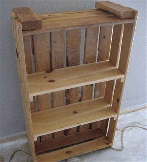 bookshelf made from pallets pallet bookcase a place for all reading material