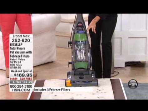 bissell total floors pet vacuum with febreze filters