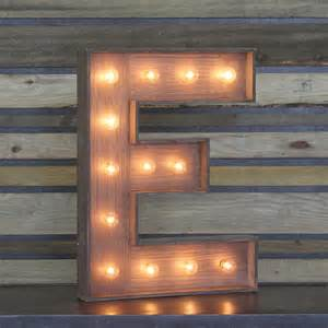 edison marquee letter quot e quot town country event rentals