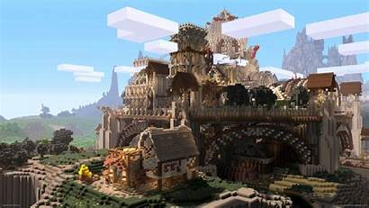 Minecraft Wallpapers Desktop Castle 1080 1920 Background