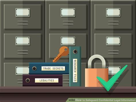 How to Safeguard Confidential Legal Information: 13 Steps