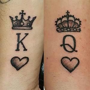 100+ Best King Queen Tattoo Designs from Instagram ...