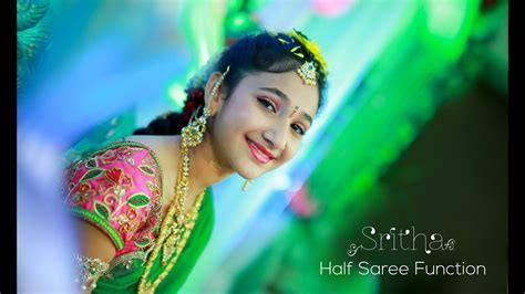 sritha  saree function youtube