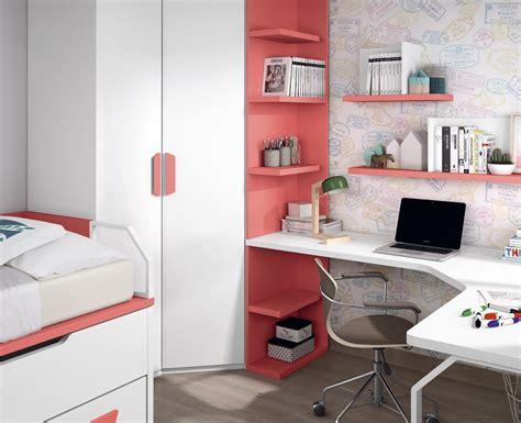 etagere pour chambre ado bureau ado avec étagères sur mesure meubles ros