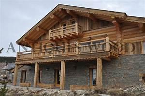 Maison Rondin Bois : maison rondin de bois prix 12 chalet en vieux bois ~ Melissatoandfro.com Idées de Décoration