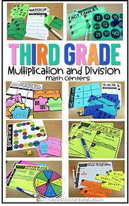 Third Grade Math Centers Multiplication And Division