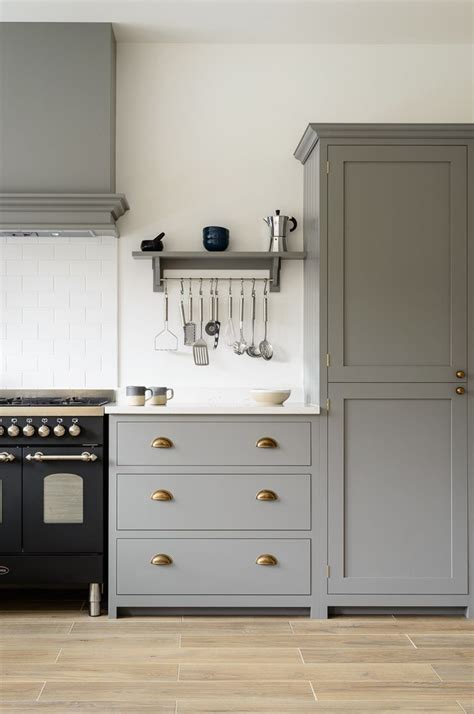 Beautiful Cupboards by Beautiful Devol Shaker Cabinets Painted In Lead Classic