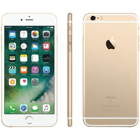 iphone 6s plus gold apple mkuf2x a iphone 6s plus 128gb gold at the guys