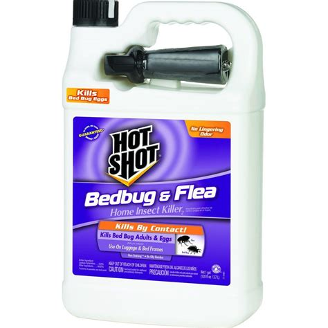 Best Bed Bug Spray Home Depot by Bed Bug And Flea 1 Gal Ready To Use