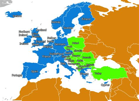 Europe Occidentale Carte by Map Of Italy Western Europe Pictures To Pin On
