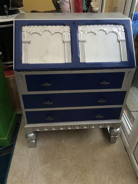 buffet bureau upcycled bureau sloane napoleonic blue with