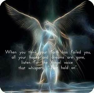 My Guardian Angel keeps telling me this....but I really do ...